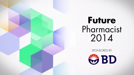 2014 Future Pharmacist Category Finalists
