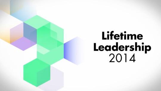 2014 Lifetime Leadership Category Finalists