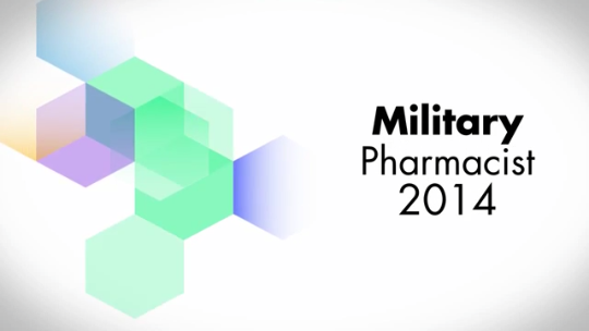 2014 Military Pharmacist Category Finalists