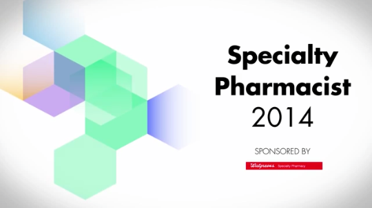 2014 Specialty Pharmacist Category Finalists