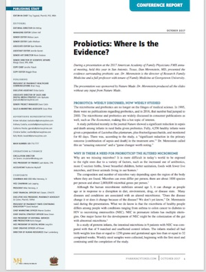 Probiotics: Where Is the Evidence?