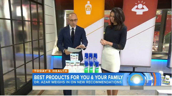 Pharmacists' Top Recommended OTC Products Revealed on NBC's Today Show
