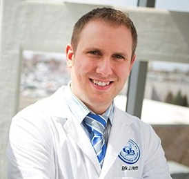 headshot of Erik Hefti, PharmD, MS, PhD