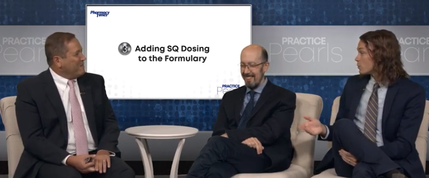 Adding SQ Dosing to the Formulary