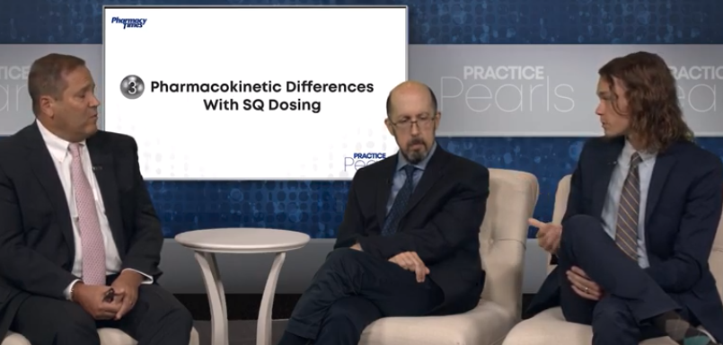 Pharmacokinetic Differences with SQ Dosing