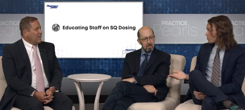 Practice Pearl 1: Educating Staff on SQ Dosing