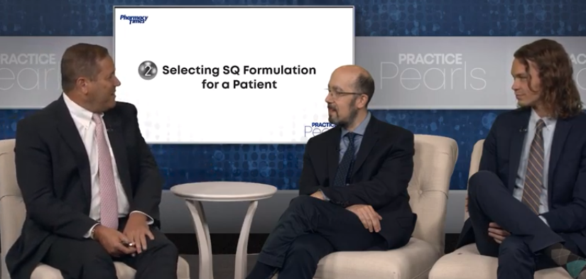 Selecting SQ Formulation for a Patient