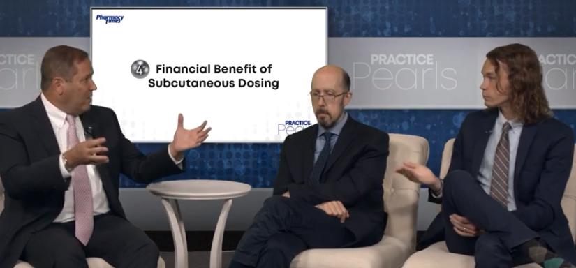 Financial Benefit of Subcutaneous Dosing