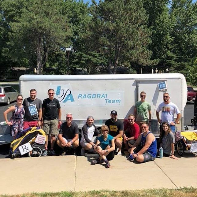 RAGBRAI Day 1: Goals for the Week