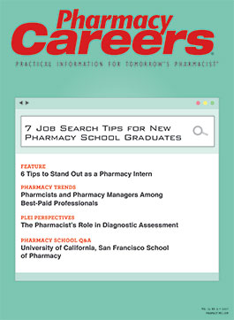 Pharmacy Careers Spring 2017 publication cover