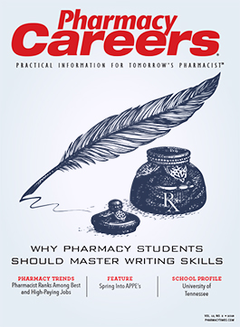 Pharmacy Careers Spring 2018 publication cover