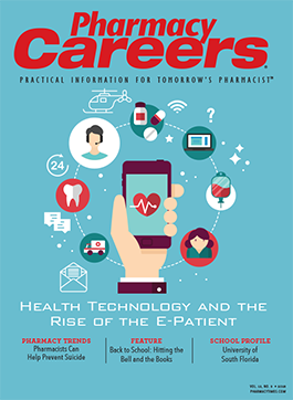 Pharmacy Careers Summer 2018 publication cover