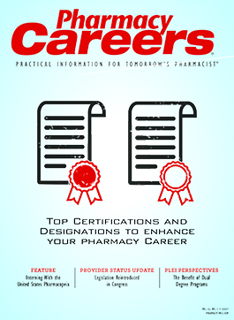 Pharmacy Careers Winter 2017 publication cover