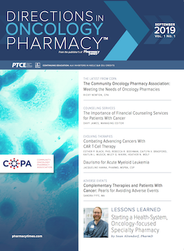 September 2019 publication cover