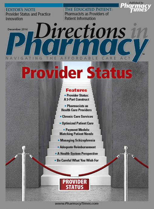 December 2014 publication cover
