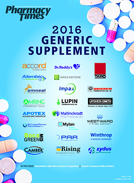 Generic Supplement 2016 publication cover