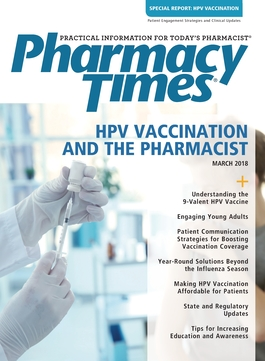 March 2018 HPV Vaccination Supplement publication cover
