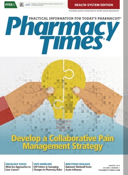 January 2019 publication cover