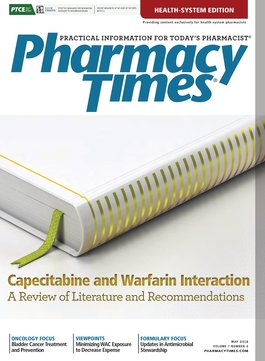 May 2018 publication cover