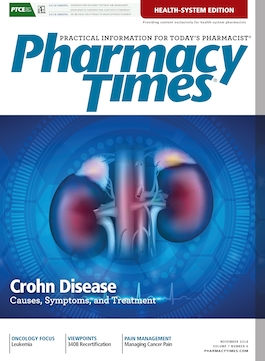 November 2018 publication cover