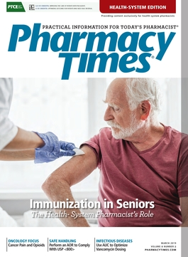 March 2019 publication cover