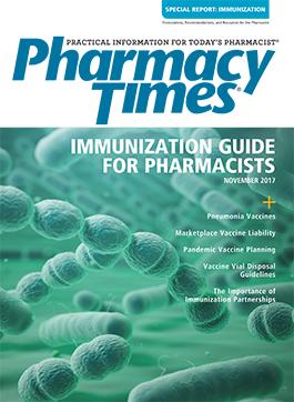 November 2017 Immunization Supplement publication cover
