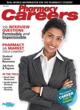 Pharmacy Careers Fall 2013