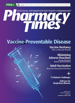 January 2019 Vaccine-Preventable Disease publication cover