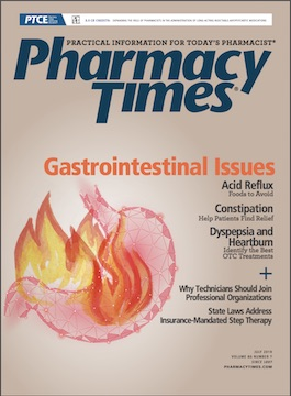 July 2019 Gastrointestinal Issues publication cover