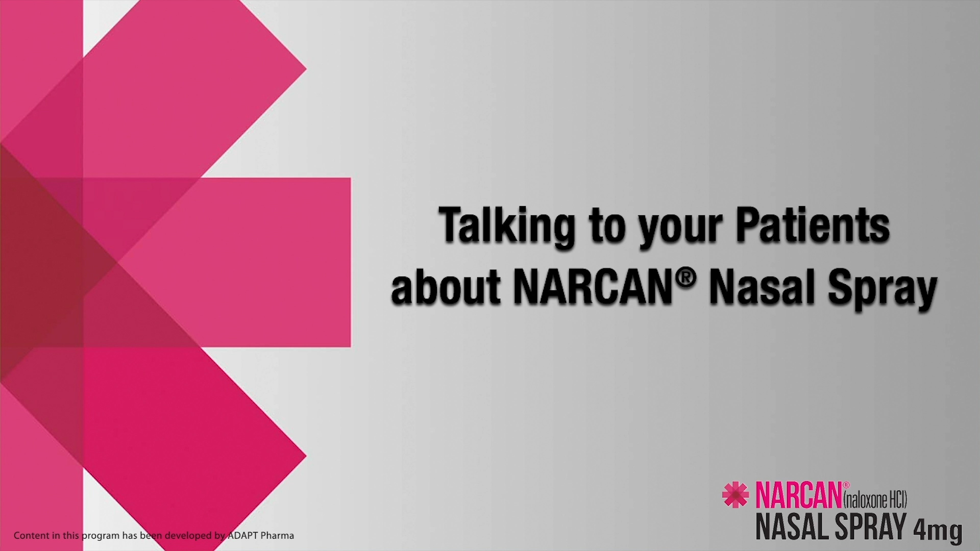 Narcan Training Video 3