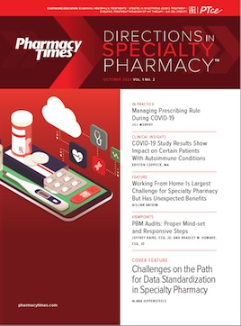 cover of Specialty Pharmacy Times