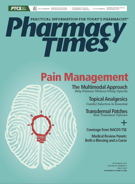 September 2019 Pain Management publication cover